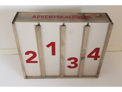 Adventskalender 4 Flasker 0,75